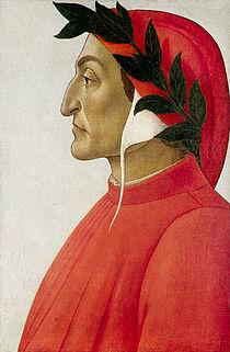 09 italyancanın atası sayılan Dante Alighieri