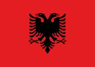arnavutluk bayrak